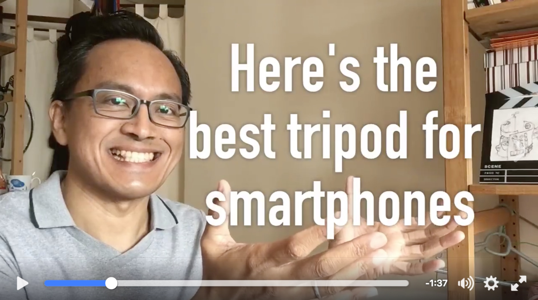 Here's the best tripod for smartphone video makers