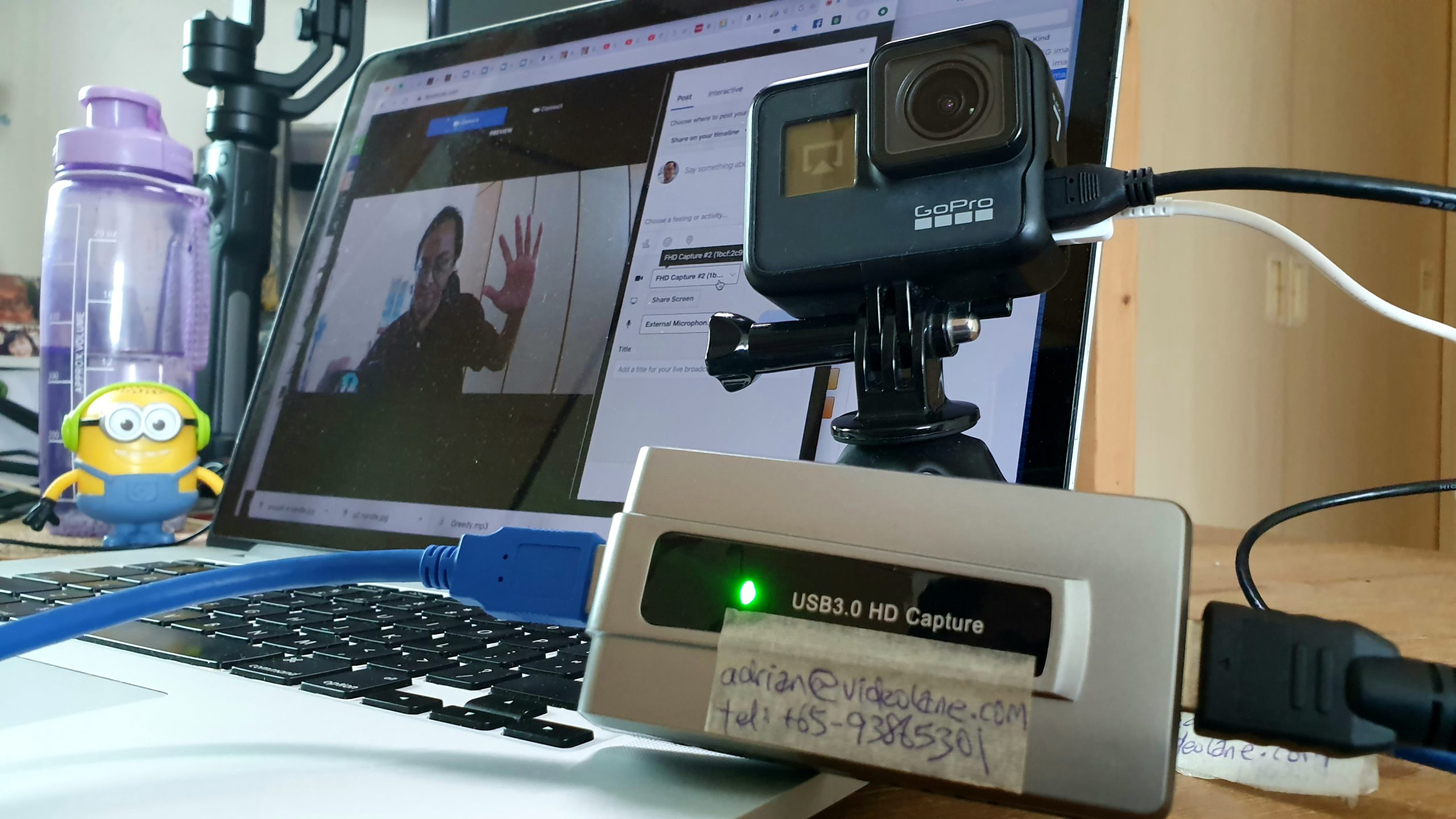 How To Use Gopro Hero7 Black As A Webcam On A Mac Videolane Com